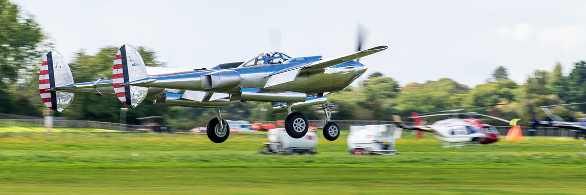 Goodwood is aviation as well as cars
