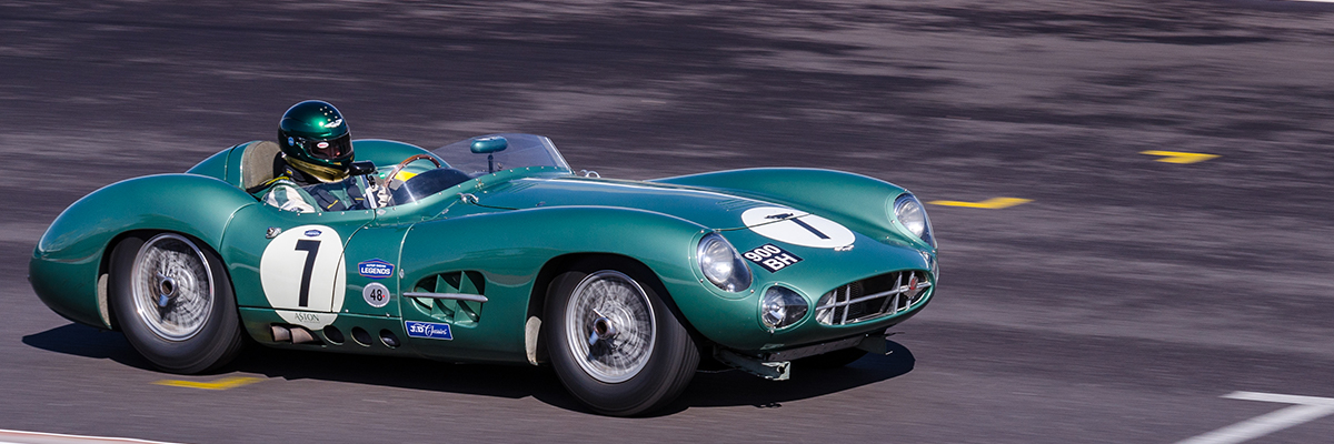 Stunning race cars used as they were intended